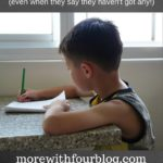 5 Ways to Help Your Children With Homework (even when they say they haven't got any!) – Guest Post