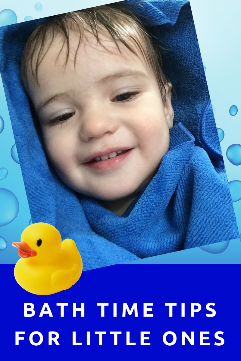 Bath Time Tips for Little Ones – More With Four Blog